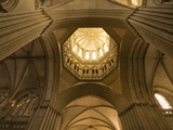 Detail of Octagonal Lantern Tower  Notre Dame Cathedral  Coutances  Cotentin  Normandy  France