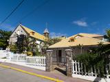 Le Bourg, Iles Des Saintes, Terre de Haut, Guadeloupe, French Caribbean, France, West Indies Photographic Print by Sergio Pitamitz