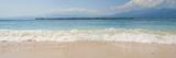 Island of Gili Air, with Gili Meno Beach in the Foreground, Gili Islands, Indonesia, Southeast Asia Fotografisk trykk av Matthew Williams-Ellis