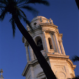 Detail of Tower of Catedral Nueva, Cadiz, Andalucia, Spain, Europe Photographic Print by Stuart Black