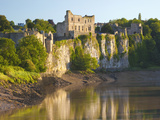 Chepstow Castle and the River Wye, Gwent, Wales, United Kingdom, Europe Photographic Print by Billy Stock