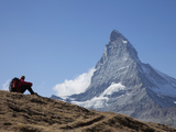 Matterhorn, Zermatt, Canton Valais, Swiss Alps, Switzerland, Europe Photographie par Angelo Cavalli
