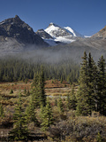 Fog in the Alpine Valley, Jasper National Park, UNESCO World Heritage Site, Alberta, Canada Photographic Print by James Hager