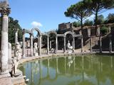 Hadrian's Villa, Canopus Canal, UNESCO World Heritage Site, Tivoli, Rome, Lazio, Italy, Europe Photographic Print by Vincenzo Lombardo