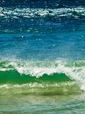 Small Green Wave, Strait of Gibraltar, El Estrecho Nat'l Park Tarifa, Costa de La Luz, Spain Photographic Print by Giles Bracher
