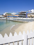 Stores on Harbour Drive, George Town, Grand Cayman, Cayman Islands, Greater Antilles, West Indies Photographic Print by Richard Cummins