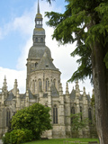 Saint Sauveur Basilica, Roman Gothic, Dinan, Brittany, Cotes D'Armor, France, Europe Photographic Print by Guy Thouvenin