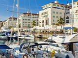 Queensway Quay Marina, Gibraltar, Mediterranean, Europe Photographic Print by Giles Bracher