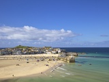 Summer Sunshine on the Old Harbour, St. Ives, Cornwall, England, United Kingdom, Europe Photographie par Peter Barritt