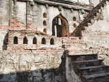 Ruins of Old Steps at King Narai's Palace, Lopburi, Thailand, Southeast Asia, Asia Photographic Print by Matthew Williams-Ellis