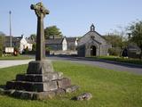 Village Cross, Foolow, Derbyshire, England, United Kingdom, Europe Photographic Print by Frank Fell