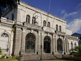 Former Courthouse Building, Fort-De-France, Martinique, Lesser Antilles, West Indies, Caribbean Photographic Print by Adina Tovy