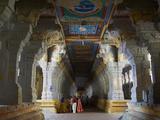 Ramanatha Swami, Rameswaram, Tamil Nadu, India, Asia Photographic Print by  Tuul