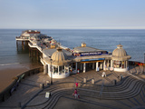 Cromer Pier at Cromer, Norfolk, England, United Kingdom, Europe Photographic Print by Mark Sunderland