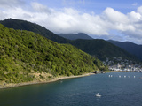 Queen Charlotte Sound, Picton, South Island, New Zealand, Pacific Photographic Print by Richard Cummins