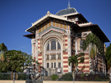 Bibliotheque Schoelcher (Library), Fort-De-France, Martinique, Lesser Antilles,West Indies Photographic Print by Adina Tovy