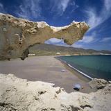 Beach Scene, Near San Jose, Cabo de Gata, Costa de Almeria, Andalucia, Spain, Europe Photographic Print by Stuart Black