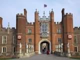 Great Gatehouse, Hampton Court Palace, Greater London, England, United Kingdom, Europe Photographic Print by Peter Barritt