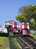 Cliff Tramway at Foreshore Road, Scarborough, North Yorkshire, Yorkshire, England, UK, Europe Photographic Print by Mark Sunderland
