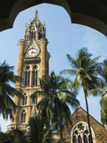 Rajabhai Clock Tower, Mumbai (Bombay), Maharashtra, India, Asia Photographic Print by Stuart Black