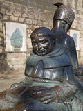 Friar Tuck Statue, Nottingham, Nottinghamshire, England, United Kingdom, Europe Photographic Print by Frank Fell