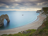 Durdle Door, Eroded Rock Arch, Beach, Jurassic Coast, UNESCO World Heritage Site, Dorset, England Photographic Print by Neale Clarke