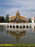 Bang Pa-In Royal Palace, Near Ayutthaya, Thailand, Southeast Asia, Asia Photographic Print by Antonio Busiello