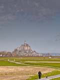 Mont St. Michel, UNESCO World Heritage Site, Normandy, France, Europe Photographic Print by Julian Elliott