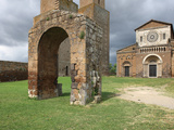 St.. Peter Church, Tuscania, Viterbo, Lazio, Italy, Europe Photographic Print by Vincenzo Lombardo