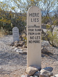 Boot Hill Cemetery, Tombstone, Arizona, United States of America, North America Photographic Print by Robert Harding Productions 