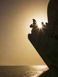 Monument to Discoveries, Belem, Lisbon, Portugal, Europe Photographic Print by Angelo Cavalli