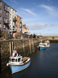 St. Andrews Harbour, St. Andrews, Fife, Scotland, United Kingdom, Europe Photographic Print by Mark Sunderland