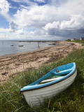 Fishing Boat on the Beach at Carnoustie, Angus, Scotland, United Kingdom, Europe Photographic Print by Mark Sunderland