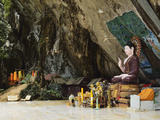 Buddha Statue, Tiger Cave Temple (Wat Tham Suea), Krabi Province, Thailand, Southeast Asia, Asia Photographic Print by Jochen Schlenker