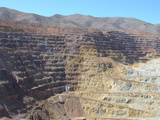 The Lavender Open Pit Copper Mine in Bisbee, Arizona, United States of America, North America Photographic Print by Robert Harding Productions 