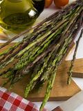 Wild Asparagus (Asparagus Acutifolius), Italy, Europe Photographic Print by Nico Tondini
