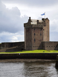 Broughty Castle Museum at Broughty Ferry, Dundee, Scotland, United Kingdom, Europe Photographic Print by Mark Sunderland