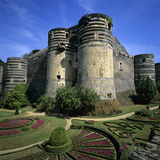 Chateau D'Angers, Angers, Loire Valley, Pays-De-La-Loire, France, Europe Photographic Print by Stuart Black