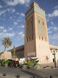D'El Mansour Mosque, Marrakesh, Morocco, North Africa, Africa Photographic Print by Frank Fell