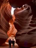 Upper Antelope Canyon (Tse' Bighanilini), Lechee Chapter, Navajo Nation, Arizona, USA Photographic Print by Michael Nolan