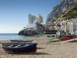 The Caleta Hotel, Catalan Bay, Gibraltar, Europe Photographic Print by Giles Bracher