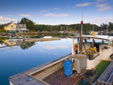 Lobster Fishing Boats, Boothbay Harbor, Maine, New England, United States of America, North America Photographic Print by Alan Copson