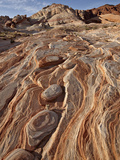 Colorful Sandstone Layers, Valley of Fire State Park, Nevada, USA, North America Photographic Print by James Hager