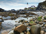 Portland Head Lighthouse, Portland, Maine, New England, United States of America, North America Photographic Print by Alan Copson