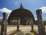 Rankot Vihara, Polonnaruwa, UNESCO World Heritage Site, North Central Province, Sri Lanka, Asia Photographic Print by Ian Trower