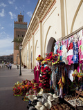 D'El Mansour Mosque Souvenir Shops, Marrakesh, Morocco, North Africa, Africa Photographic Print by Frank Fell