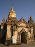 Sinmyarshin Phaya, Bagan (Pagan), Myanmar (Burma), Asia Photographic Print by Richard Maschmeyer