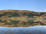 Loch Leven Reflections, Glencoe Village, Highlands, Scotland, United Kingdom, Europe Photographic Print by Chris Hepburn