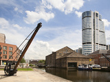Granary Wharf and Bridgwater Tower, Leeds, West Yorkshire, England, United Kingdom, Europe Photographic Print by Mark Sunderland