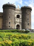 Maschio Angioino Castle (Castel Nuovo), Naples, Campania, Italy, Europe Photographic Print by Vincenzo Lombardo